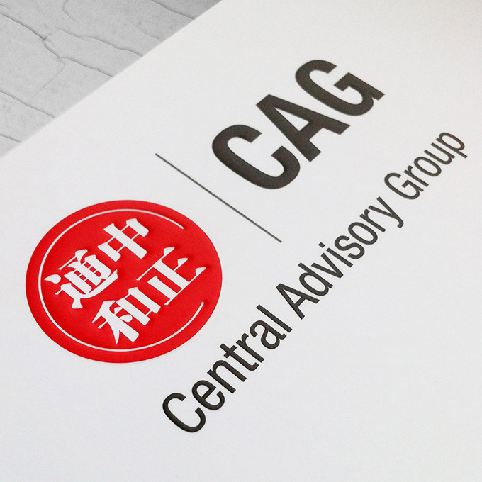 CAG | Central Advisory Group branding and website design by FOX DESIGN