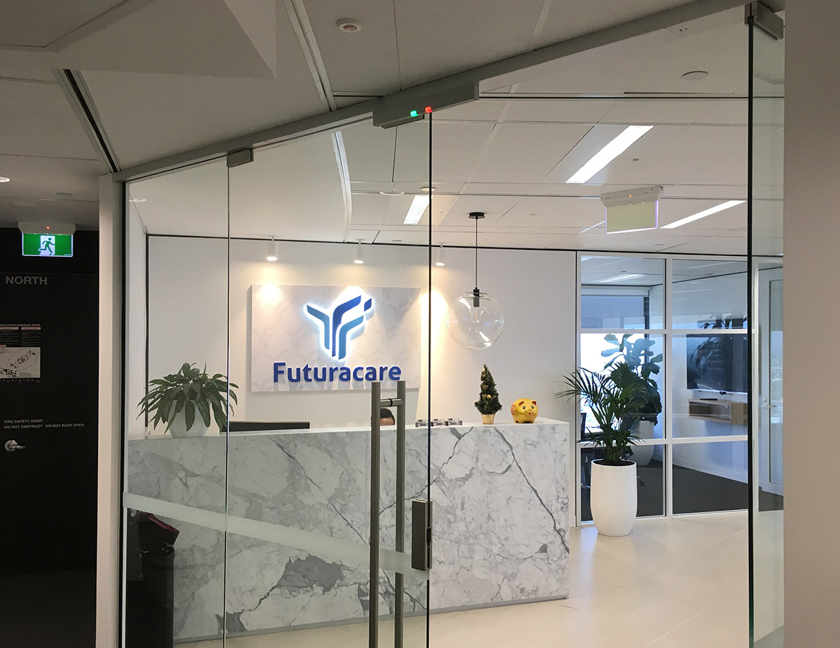 Futuracare Branding by FOX DESIGN, Sydney