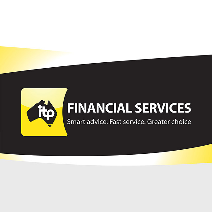 ITP Financial Services branding (logo and brand identity) by FOX DESIGN