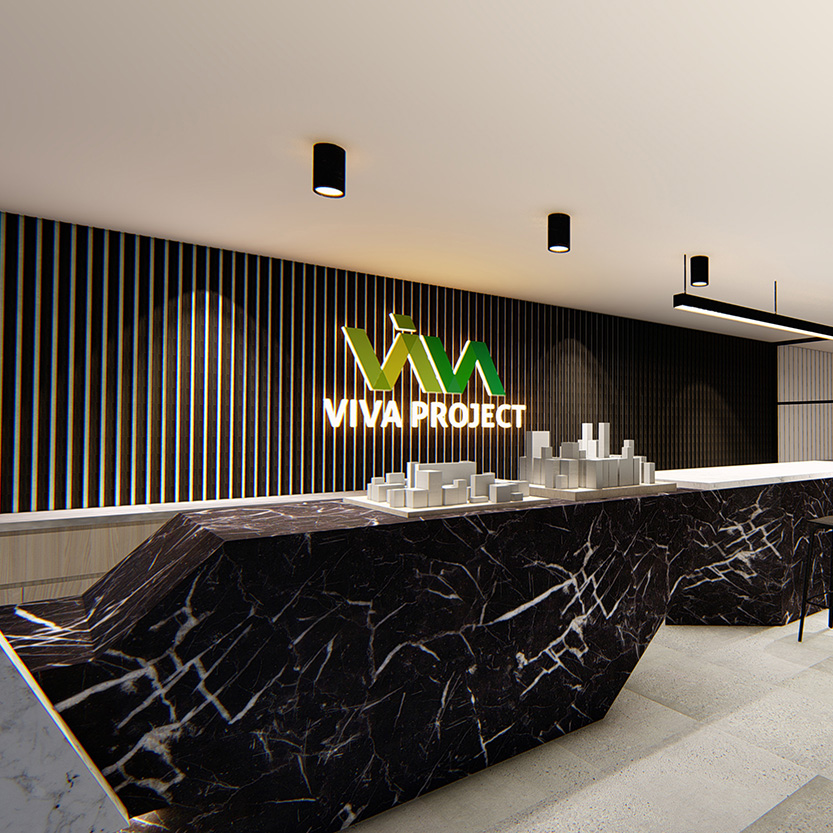 VIVA Project brand identity and website design by FOX DESIGN